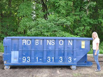 Roll Off Dumpsters 12 Yard Robinson Waste Disposal