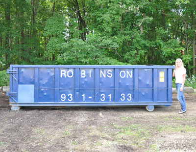 15 Yard Roll Off Container